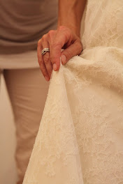 come alzare l'abito da sposa