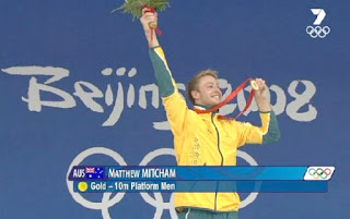 matthew mitcham wins gold