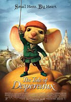 the tale of despereaux - small hero, big heart