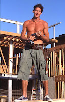 ty pennington... sadly, the guy in my story looked nothing like this