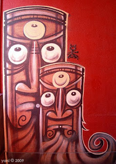 red benzo tikis