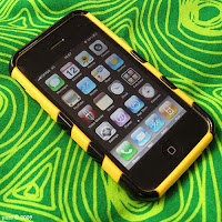 my iphone... we'll call him bumblebee