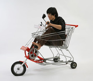 pedal shopping cart