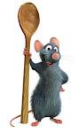 Um rato na cozinha???