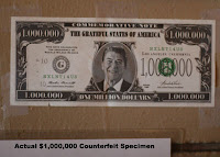 Actual FAKE 1 million dollar bill