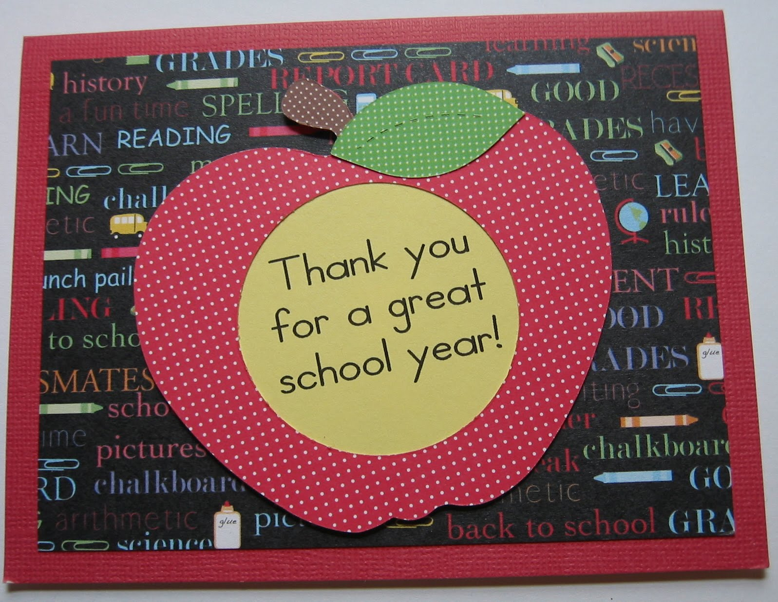 Image result for picture of thank you for a  great school year