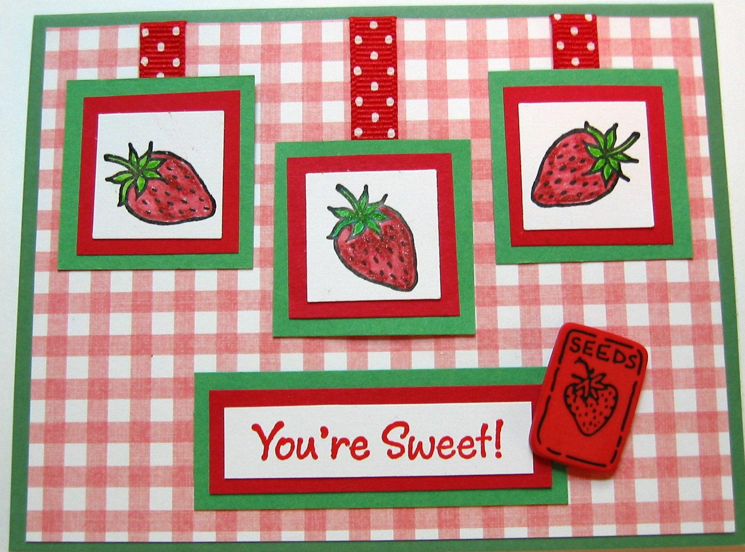 Healthy Food Logo Slogan Strawberry Stock Vector 339137741 ...