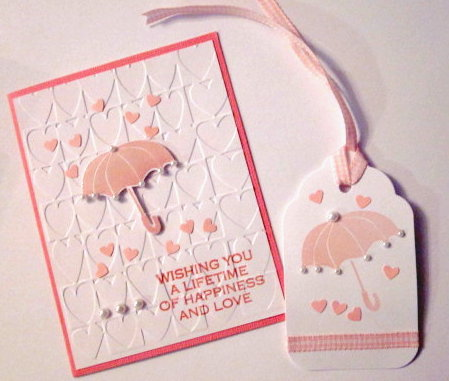 Wedding Gift Card Shower : Carol Harterys Creations: Bridal Shower Card