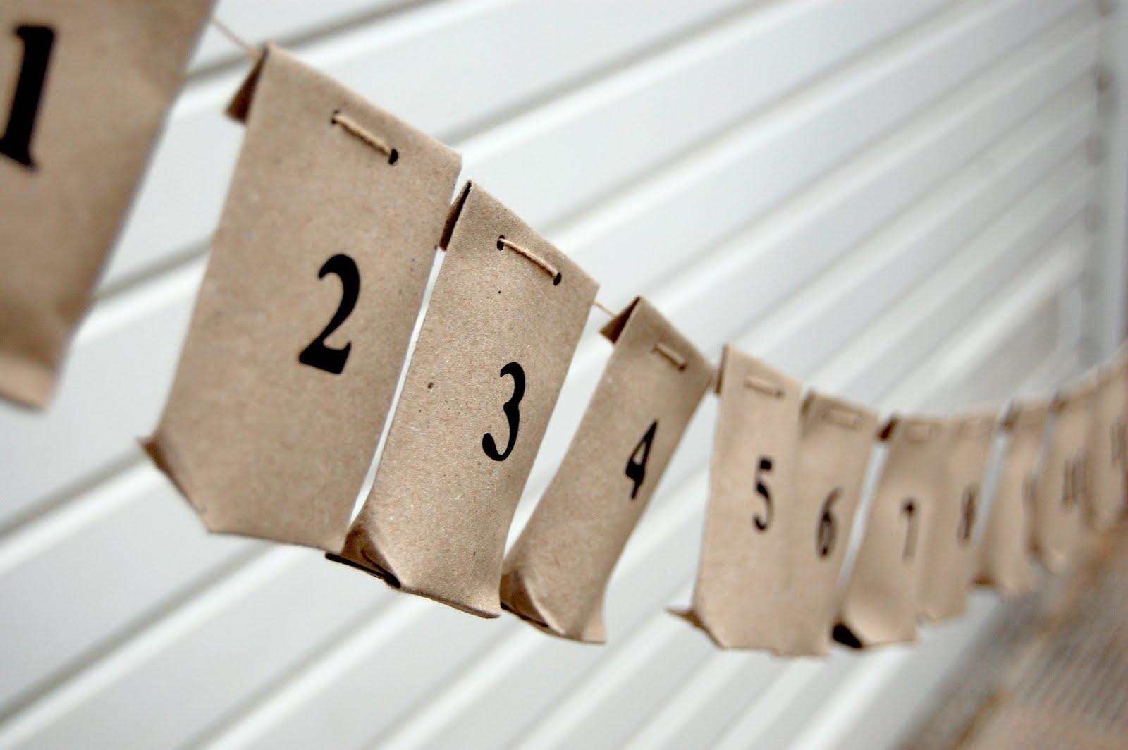 Le petit pot how to paper bags advent calendar - Calendrier de l avent a colorier ...