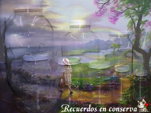 Recuerdos en conserva por Pau