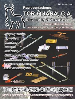 REPRESENTACIONES TORQUARA, C.A. en Paginas Amarillas tu guia Comercial