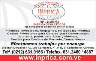 INVERSONES PRIMAVERA S.P. INPRICA, C.A. en Paginas Amarillas tu guia Comercial