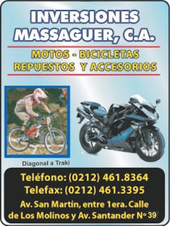 INVERSIONES MASSAGUER, C.A en Paginas Amarillas tu guia Comercial