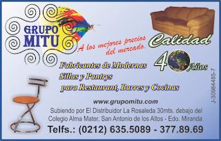 GRUPO MITU, C.A. en Paginas Amarillas tu guia Comercial