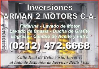 INVERSIONES ARMAN 2 MOTORS, C.A. en Paginas Amarillas tu guia Comercial
