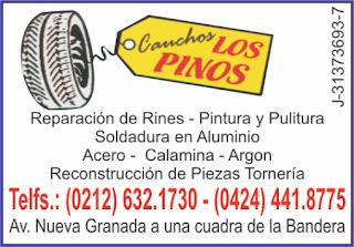 CAUCHOS LOS PINOS en Paginas Amarillas tu guia Comercial