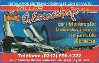 TALLER EL ESCARABAJO, S.R.L. en Paginas Amarillas tu guia Comercial