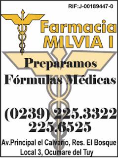 FARMACIA MILVIA I en Paginas Amarillas tu guia Comercial