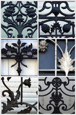 Design Art Nouveau Motifs floraux