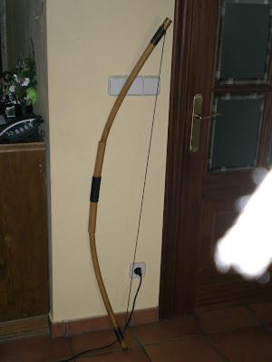 Armas avanzadas: Arco Largo y flechas CIMG3439