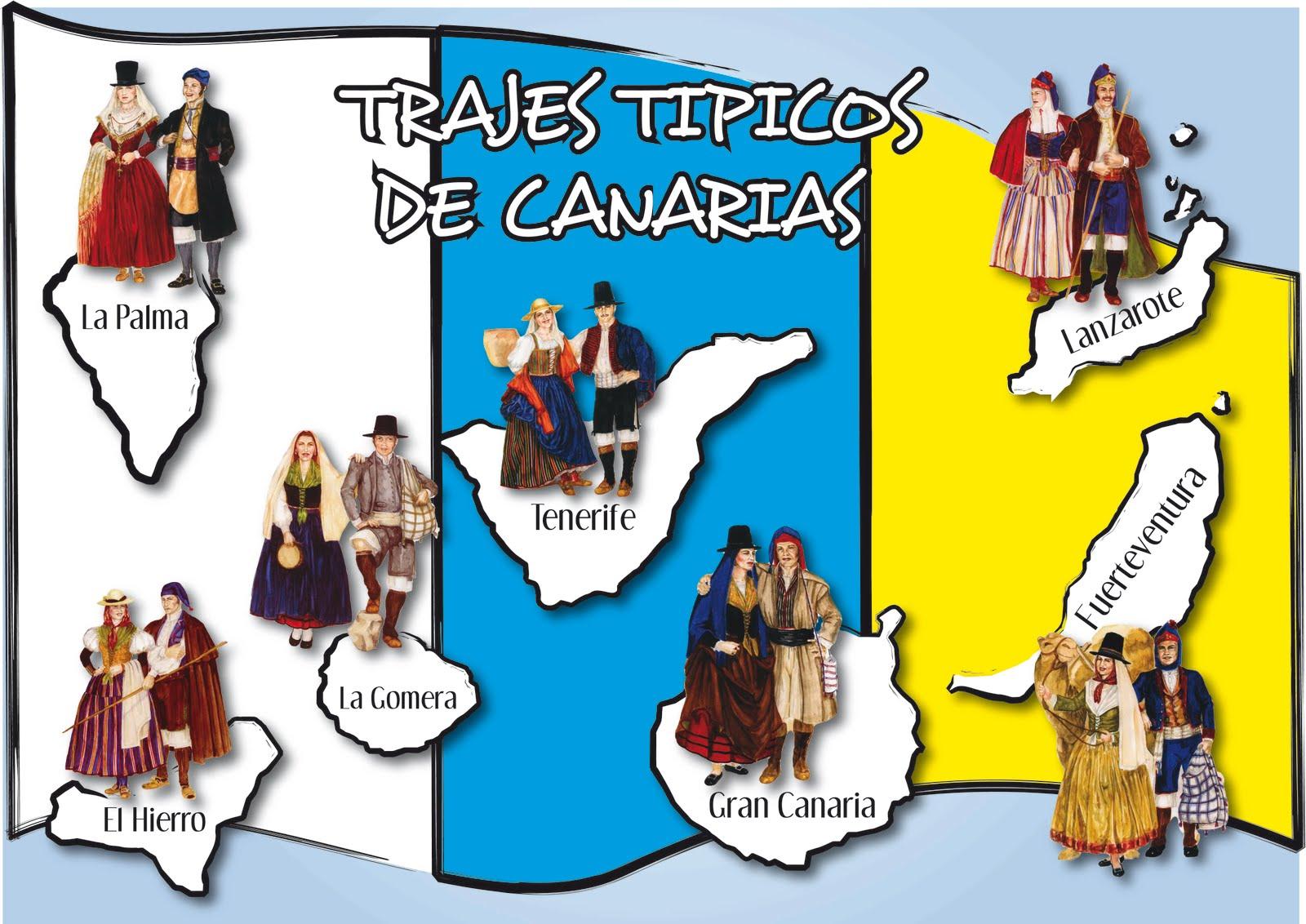 Traje Tipico De Canarias