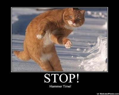 Stop! Demotivational Poster