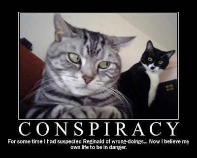 Conspiracy Demotivational Poster