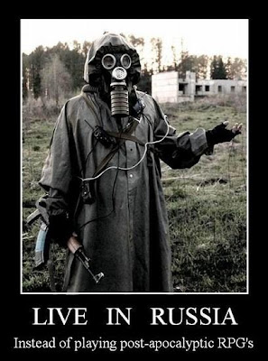 Live In Russia Demotivational Poster
