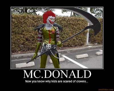 Mc. Donald Demotivational Poster