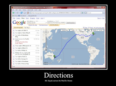 Directions Demotivational Poster
