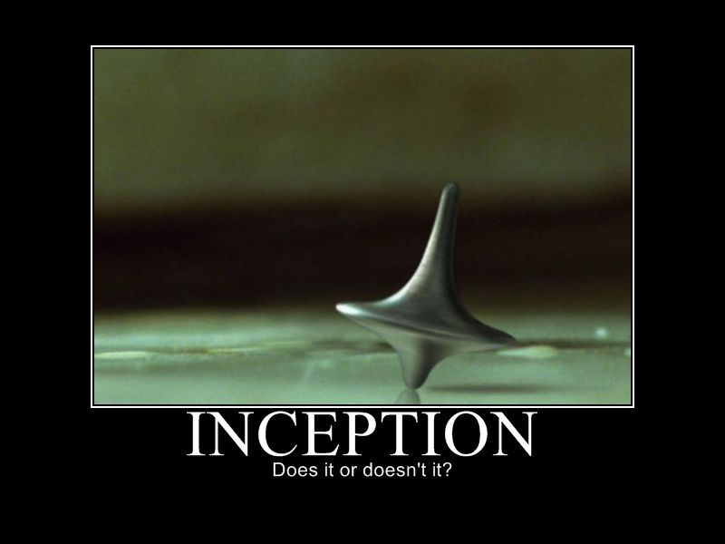 Inception demotivational poster