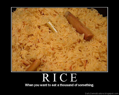 Rice Demotivational Poster