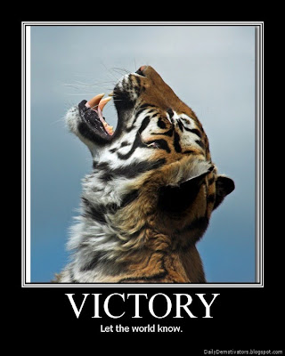 Victory Demotivational Poster