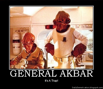 General Ackbar Demotivational Poster
