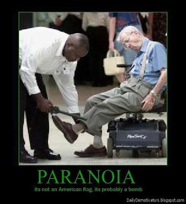Paranoia Demotivational Poster