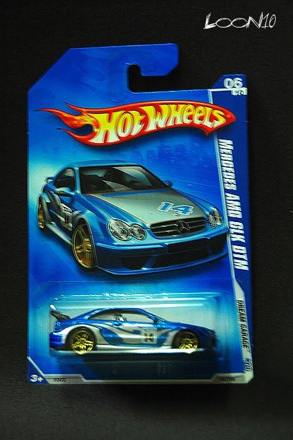 My Die Cast Life Hotwheels Mercedes Amg Clk Dtm