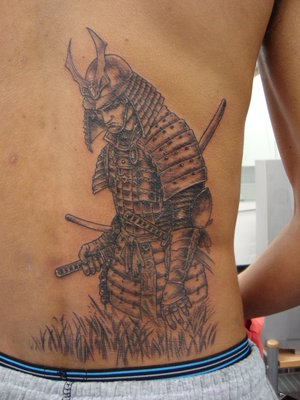 SciFi and Fantasy Art Samurai by Russell Ong samurai warrior tattoo