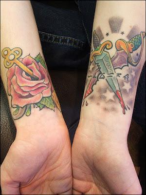 small star tattoos on wrist shooting star tattoo ideas