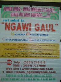 Galakkan Akses Informasi Untuk Peningkatan Layanan Masyarakat (GAUL)