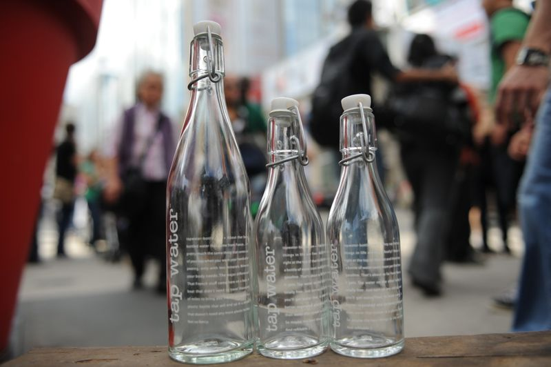 thesis bottled water Persuasive speech - free download as reusable water bottles audience: class people don't realize the benefits of reusable water bottles c) thesis statement.