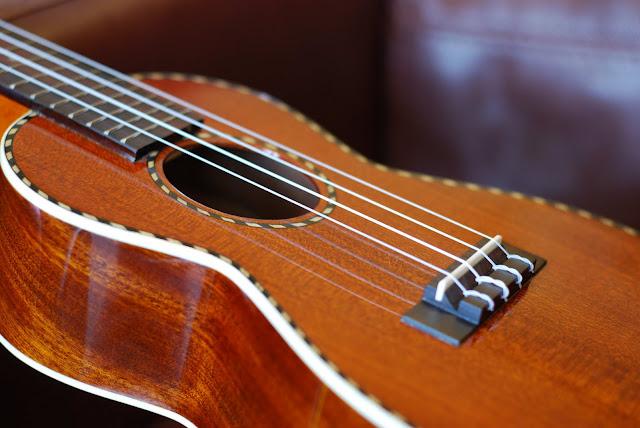mainland mahogany concert ukulele body