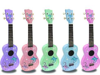 Mainland gecko ukulele