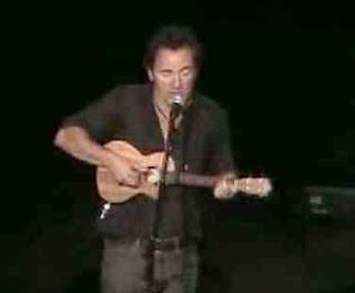 bruce springsteen ukulele