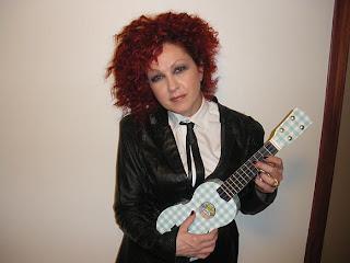 cyndi lauper ukulele