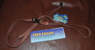 uke leash leather