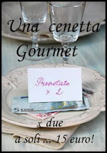Una cenetta gourmet per due a soli ... 15 euro!