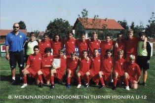 8° torneo medjmurec - Zagabria 2006 - Esordienti 94' - 3° Class.