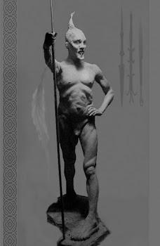 Figurative Sculpture - 24 Inch H