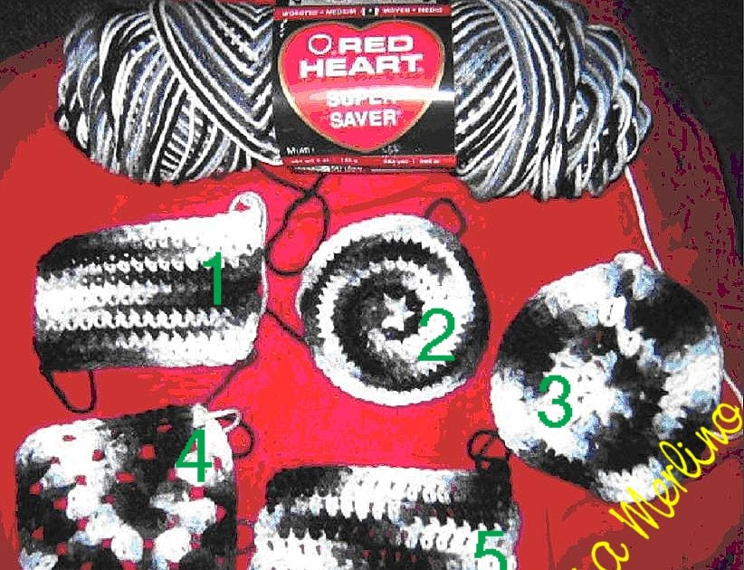 Crochet Living A New Color In Red Heart Super Saver Yarn Zebra