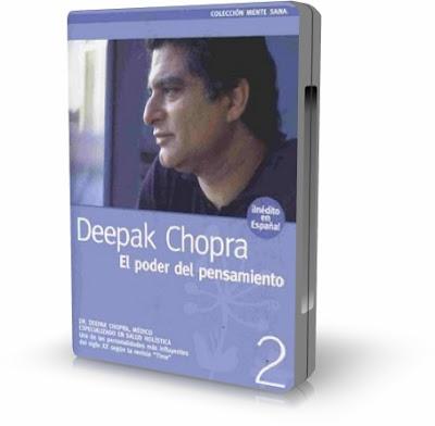 EL PODER DEL PENSAMIENTO, Deepak Chopra [ AUDIOLIBRO + VIDEO DVD ] – Colección Mente Sana, DVD # 2